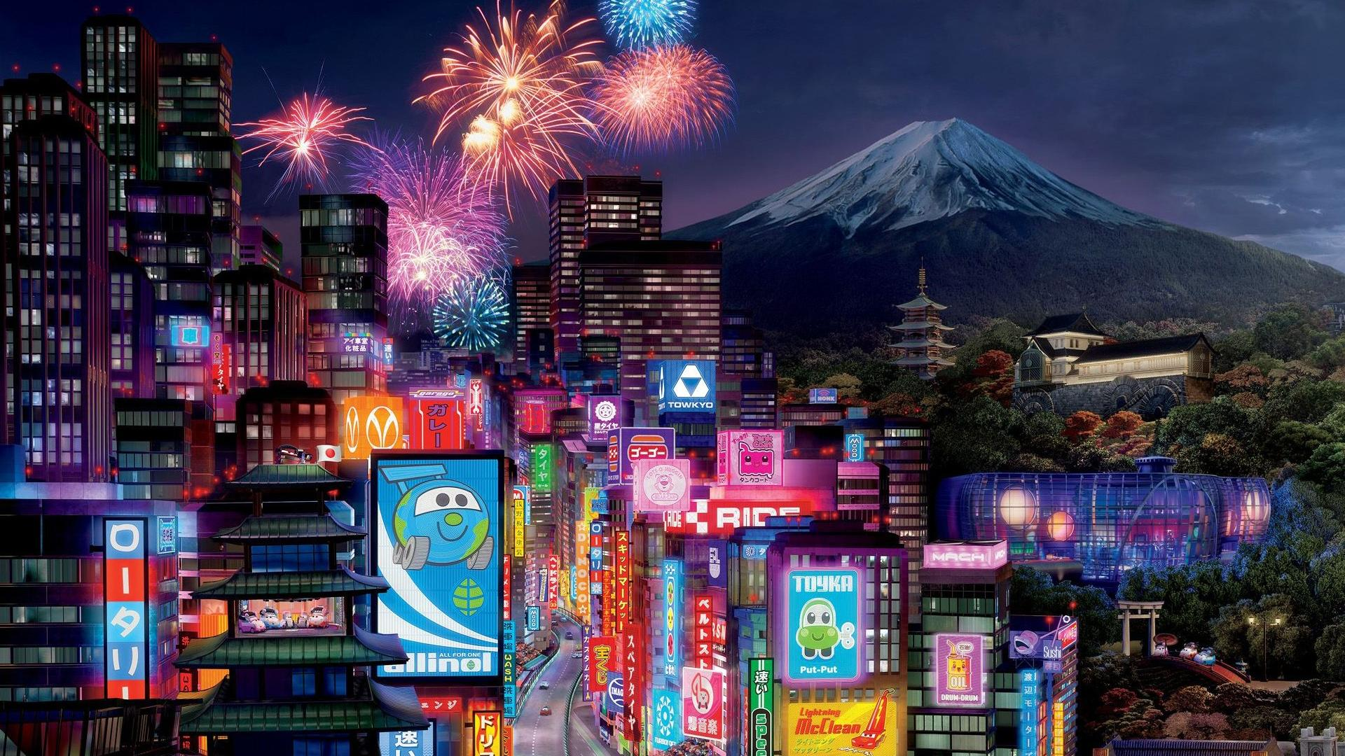 tokyo cityscape wallpaper