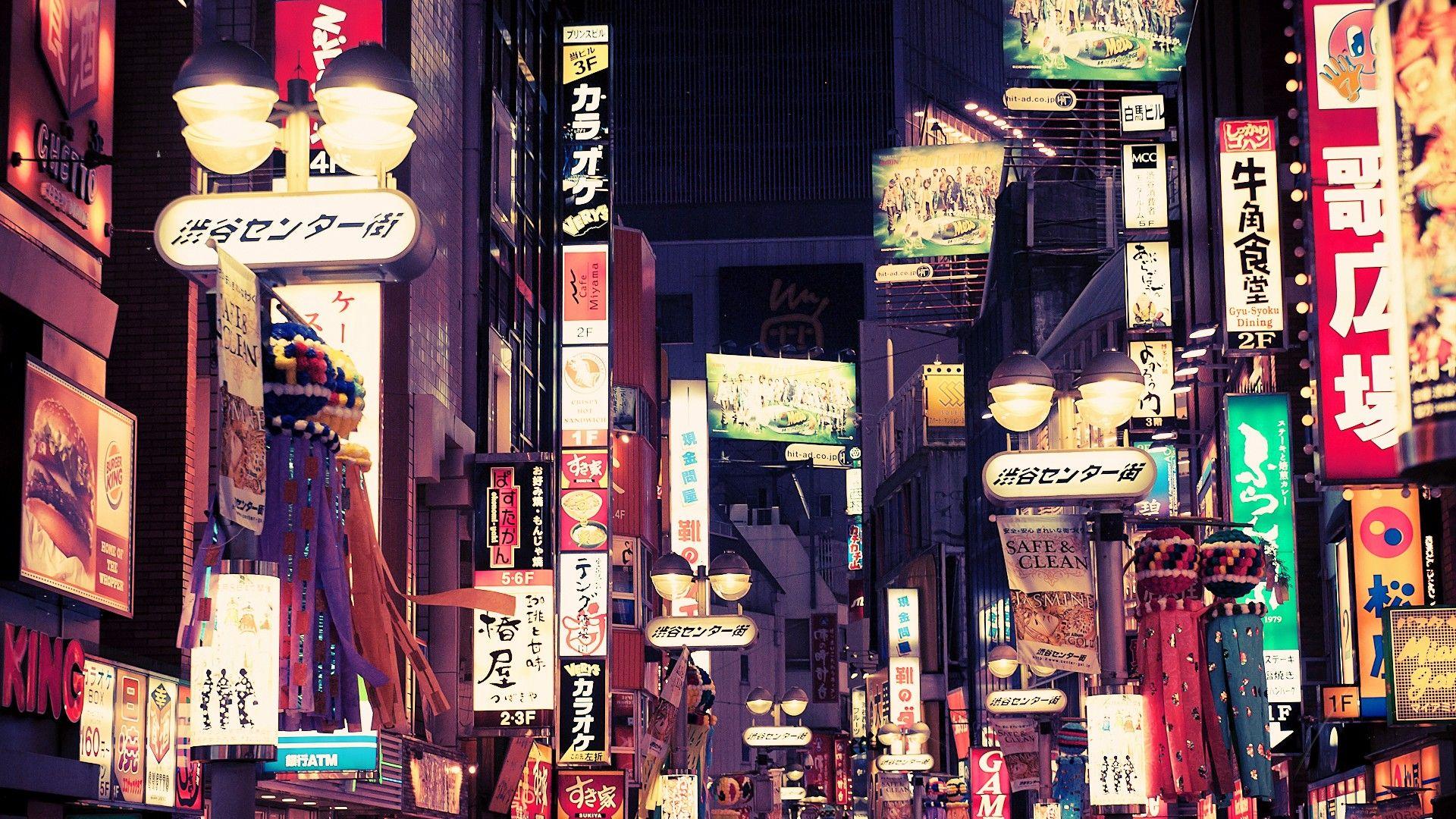 tokyo desktop wallpaper