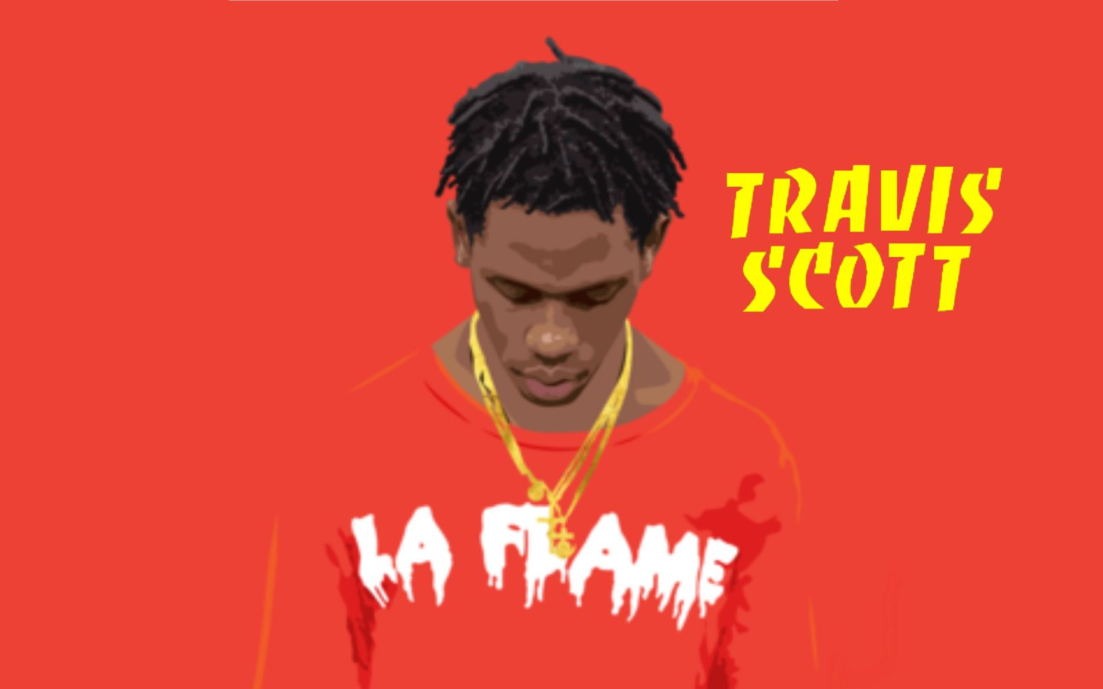 travis scott wallpaper desktop
