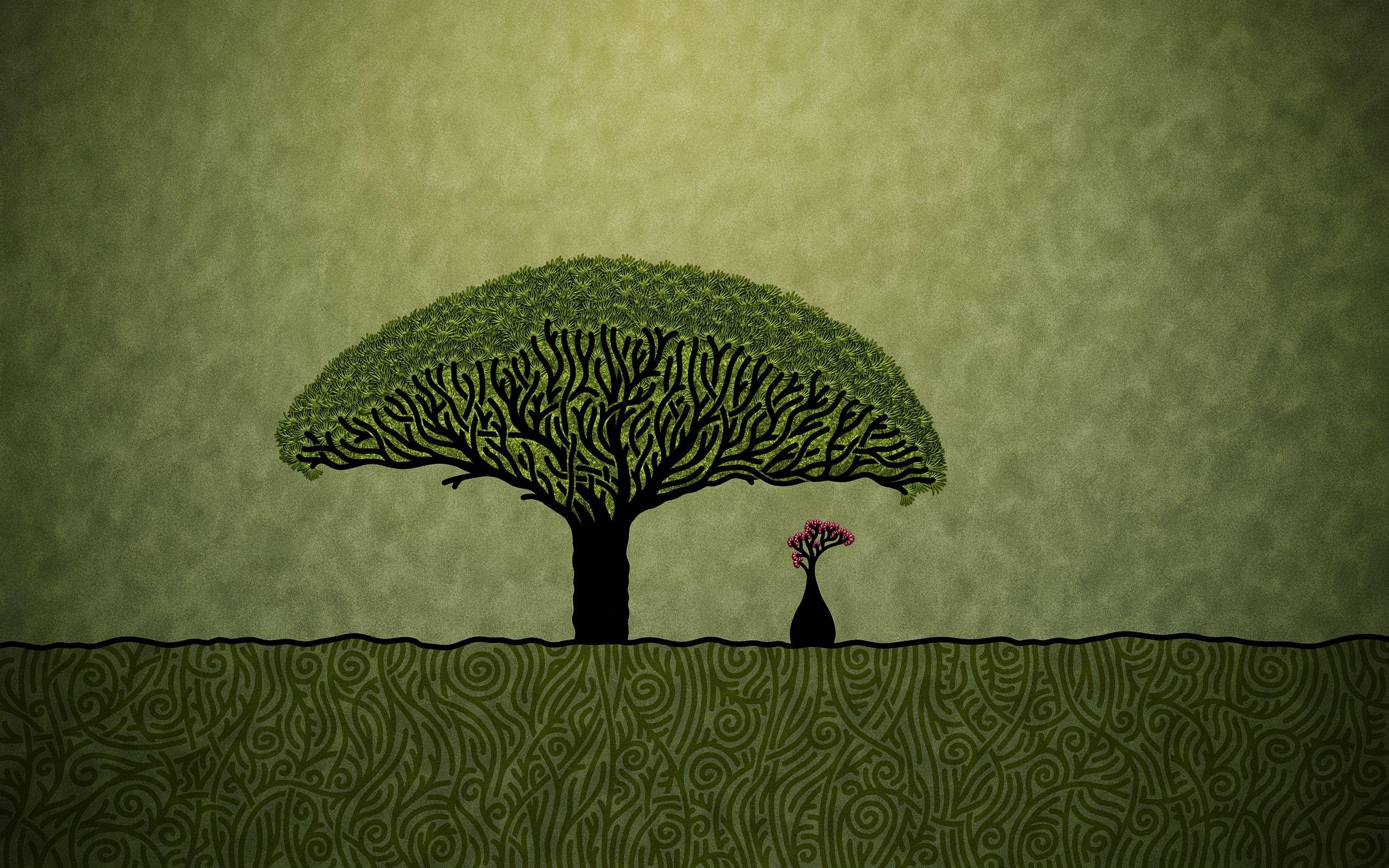 hd wallpaper tree