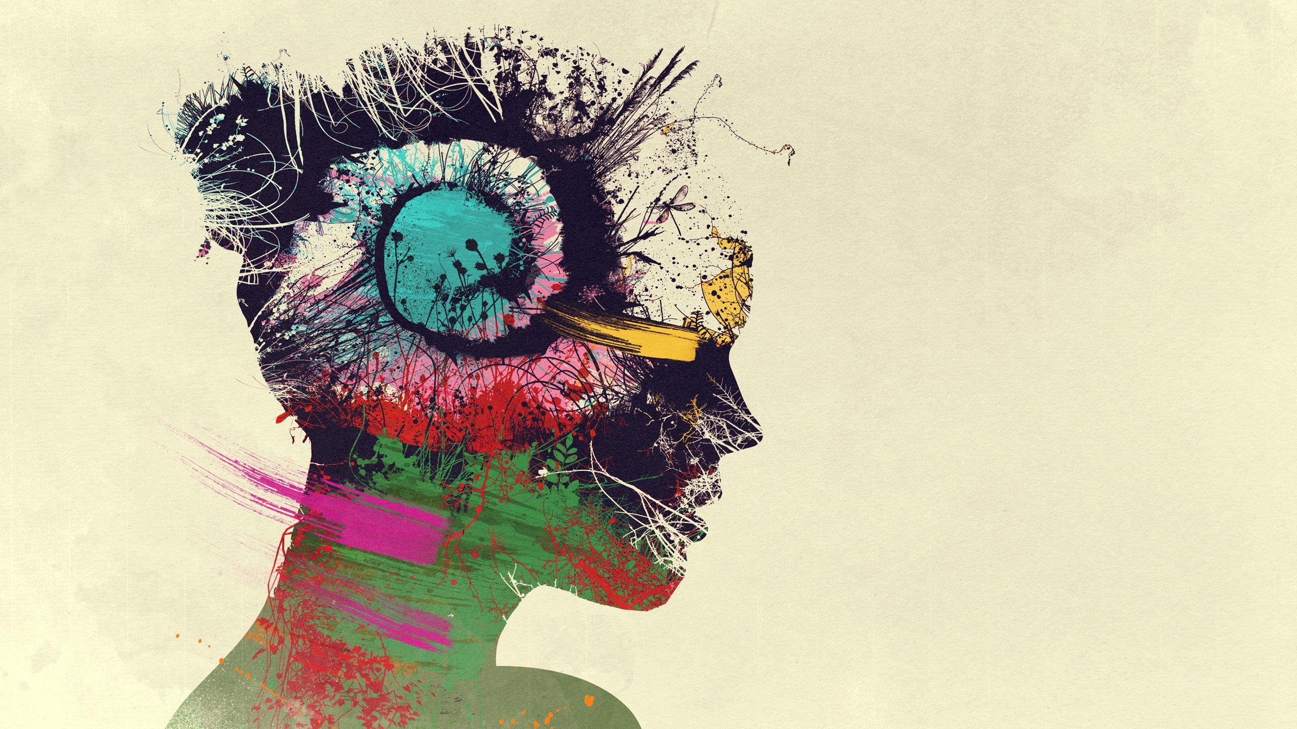 psychedelic wallpaper 4k