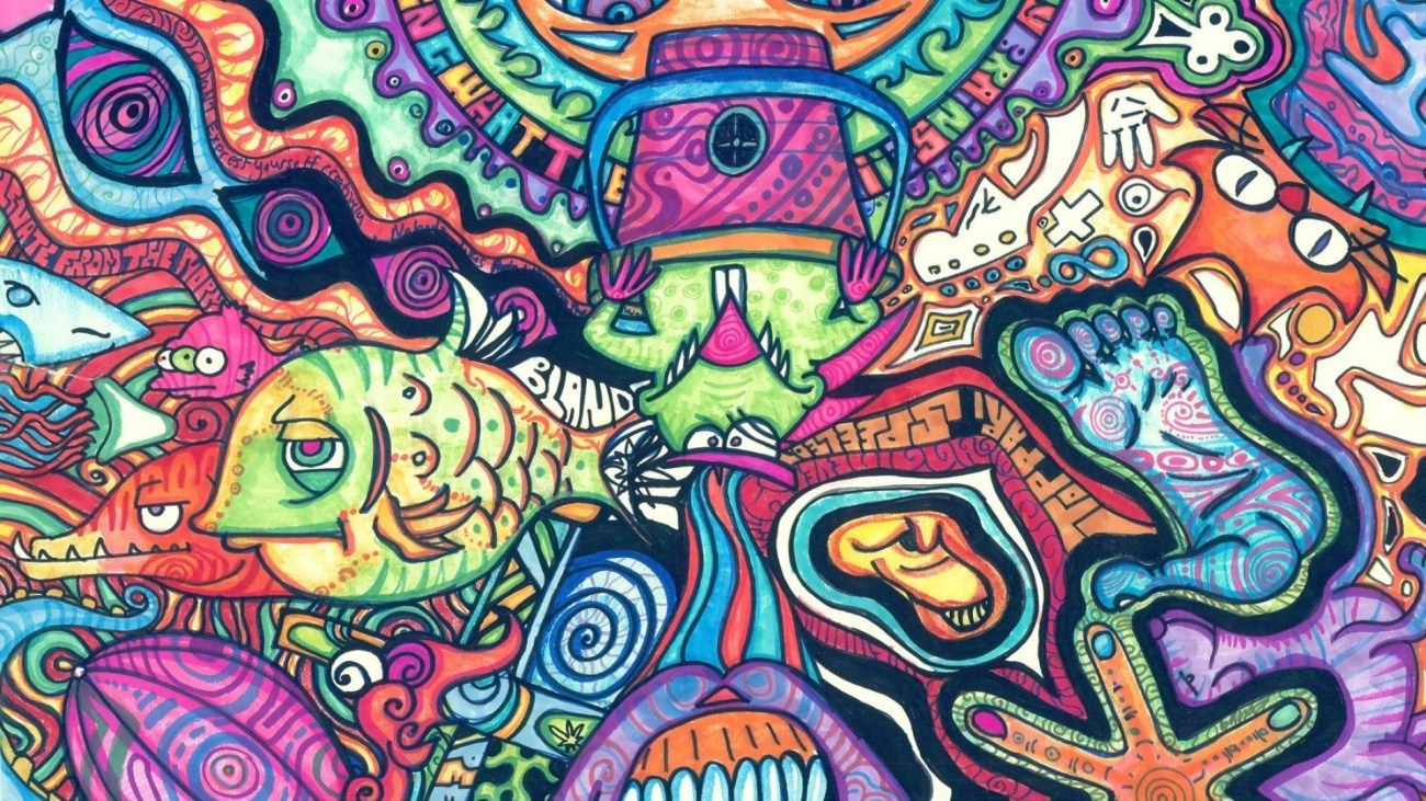 trippy backgrounds hd