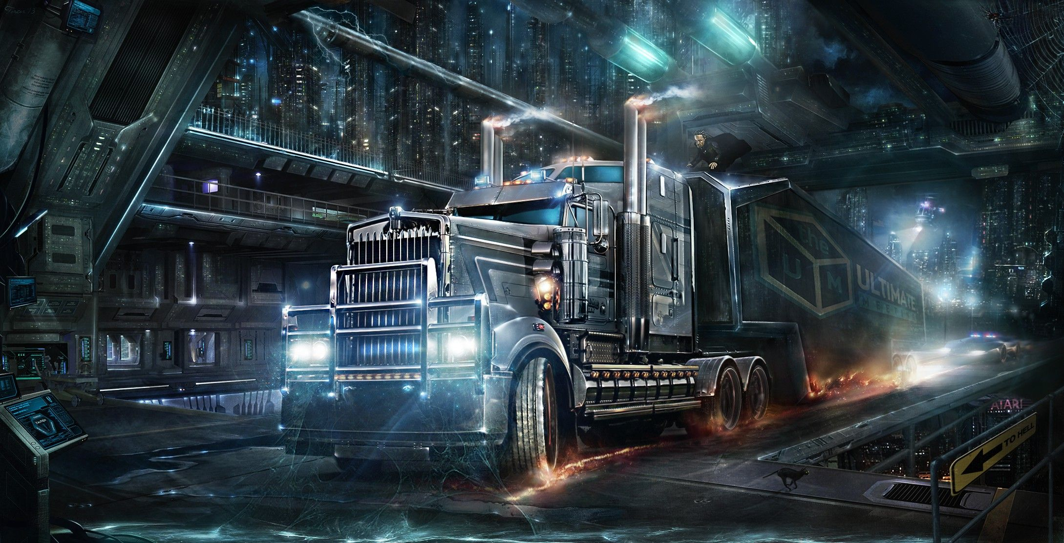 truck backgrounds