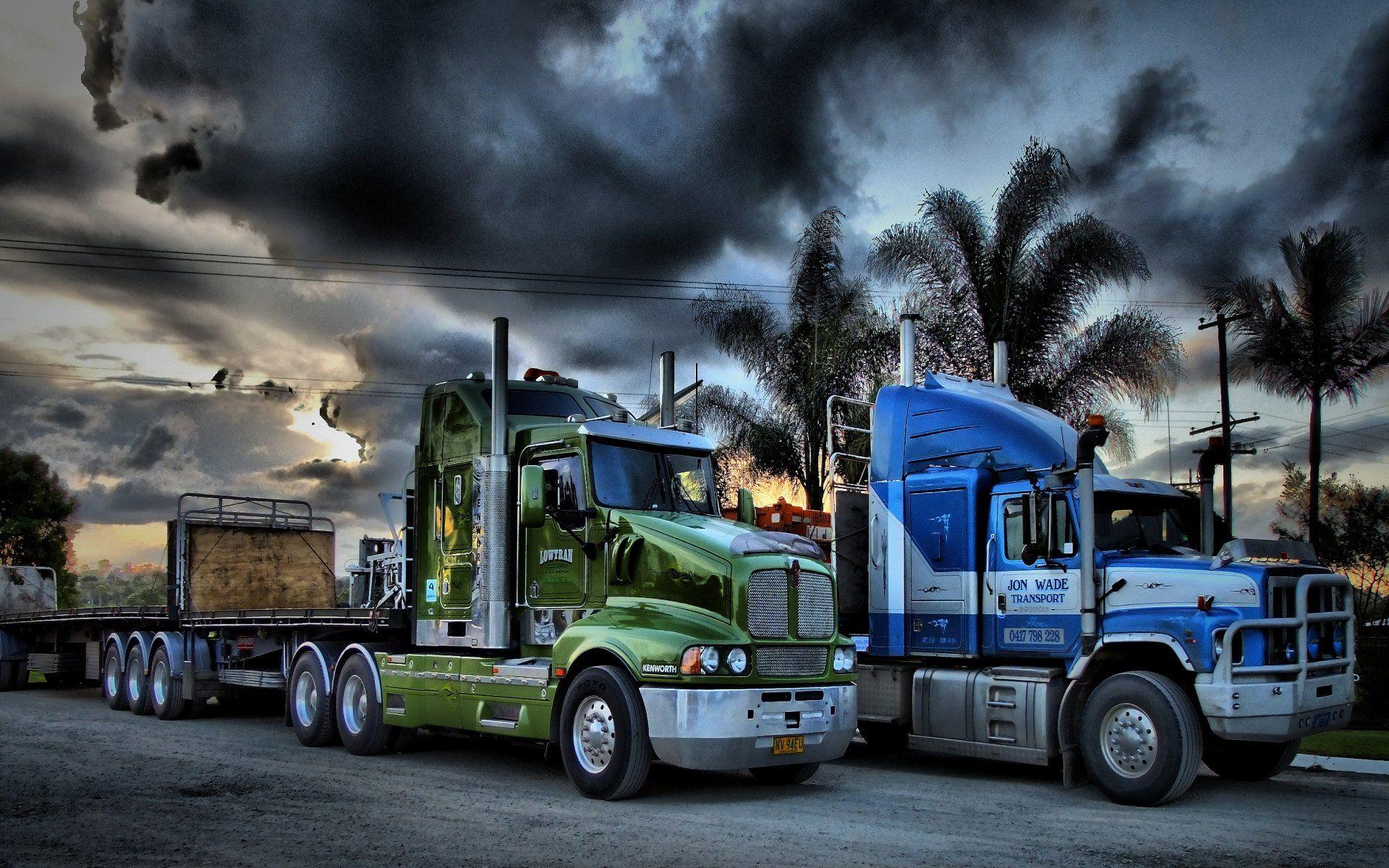 truck screensavers