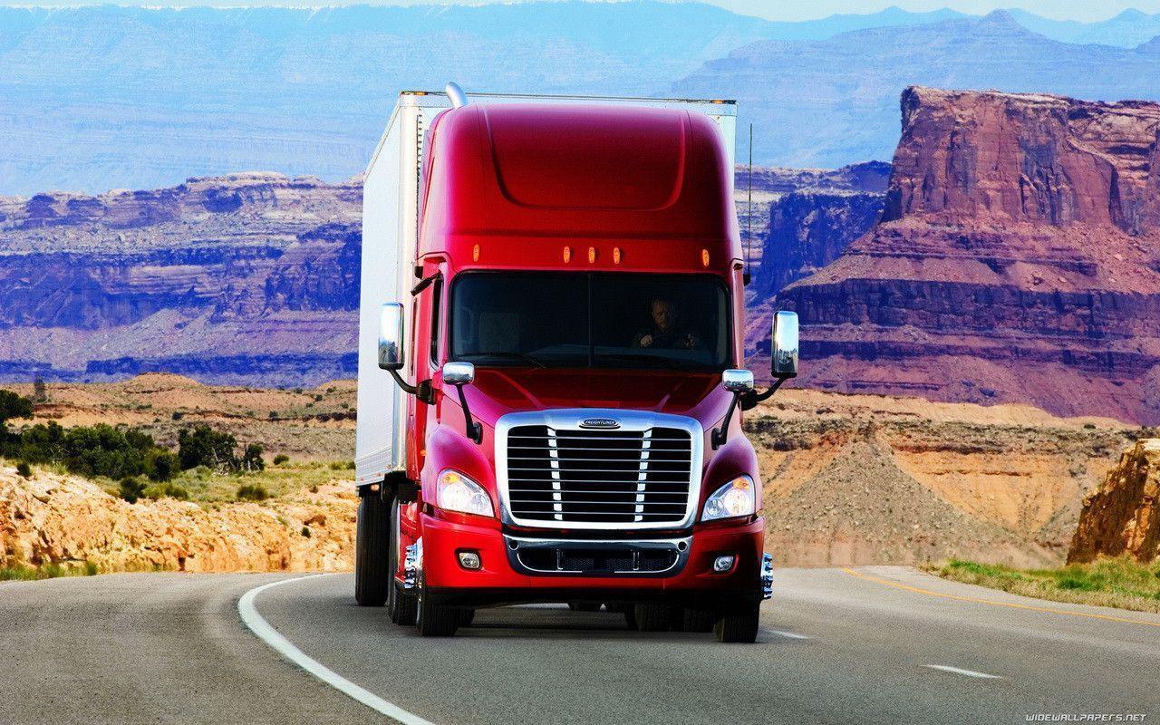 semi truck wallpaper