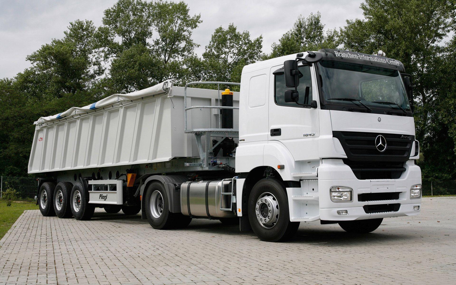 pics of big trucks