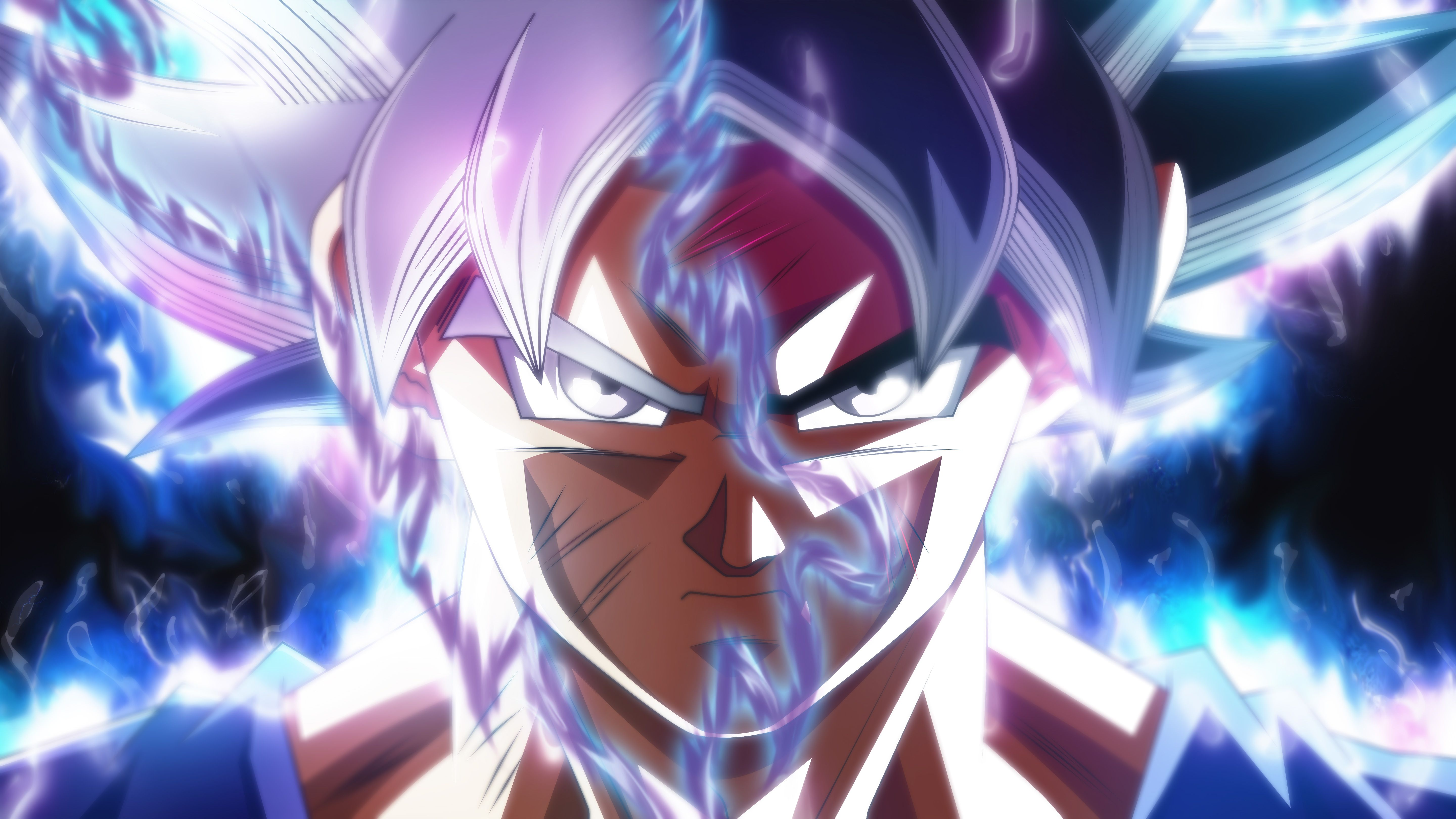 ultra instinct hd wallpaper, ultra instinct goku hd wallpaper