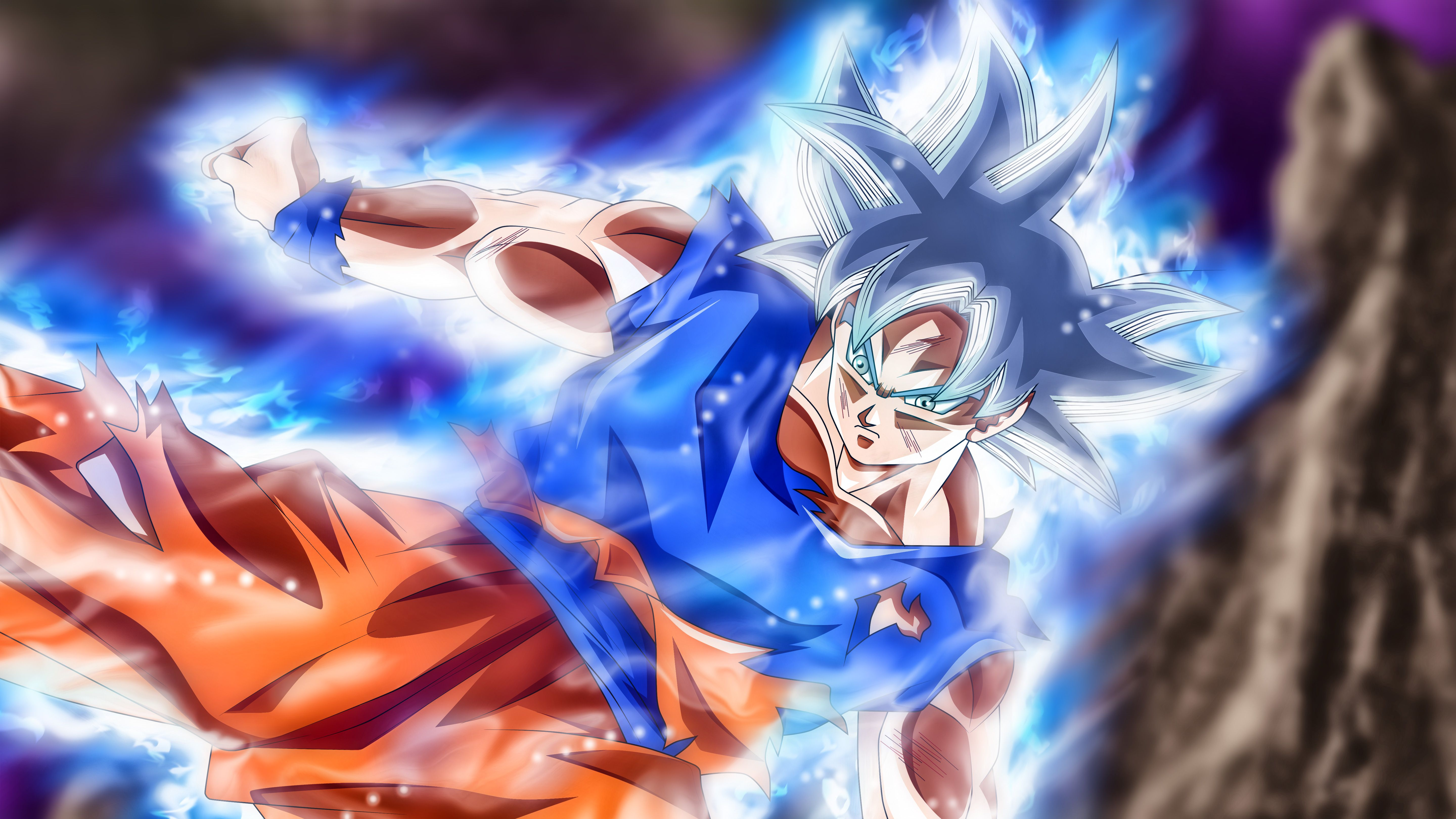 goku ultra instinct wallpaper 4k, ultra instinct goku desktop wallpaper