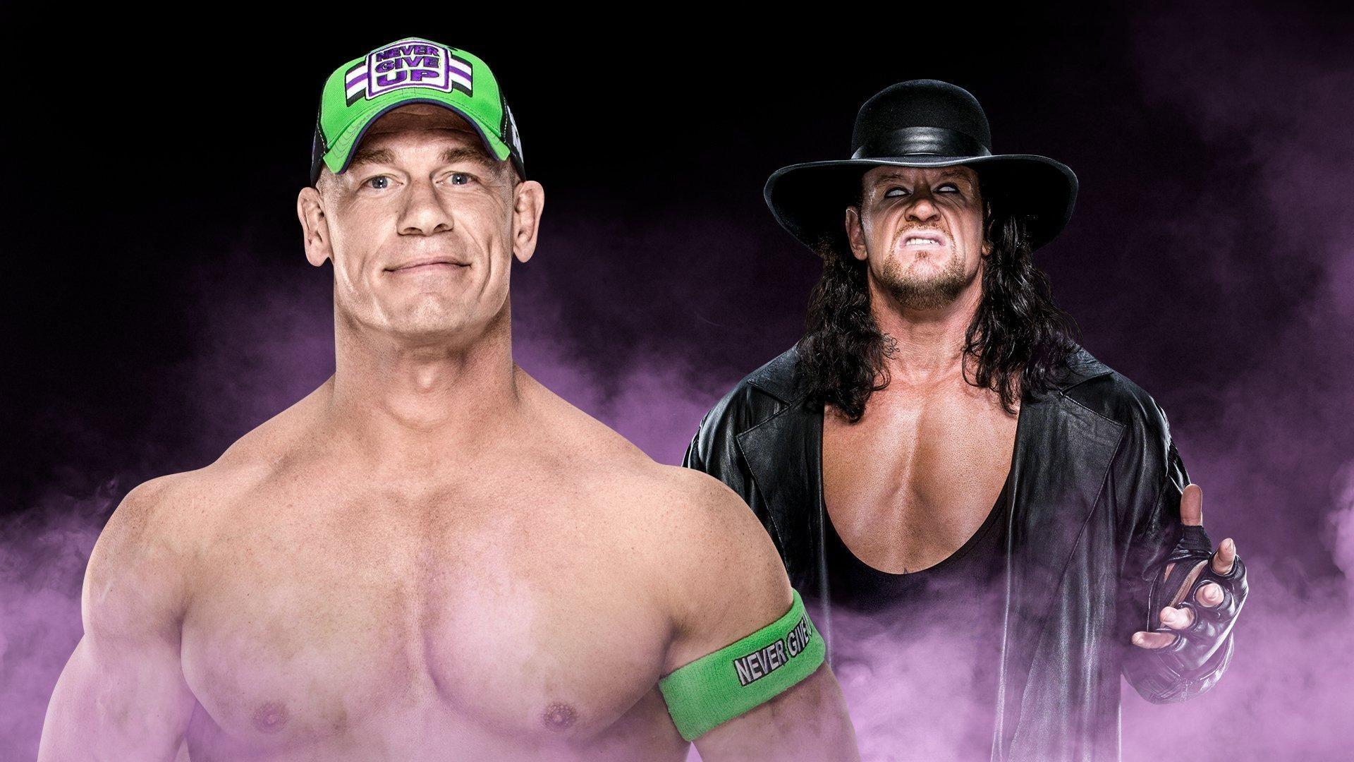 wwe undertaker vs john cena wallpapers