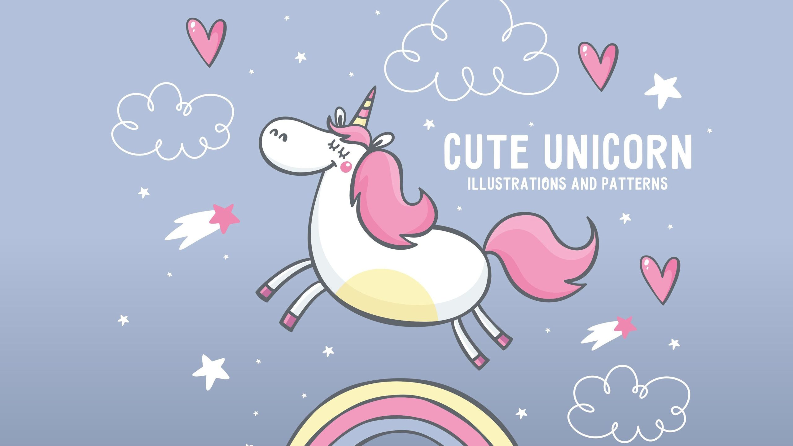 unicorn pattern wallpaper