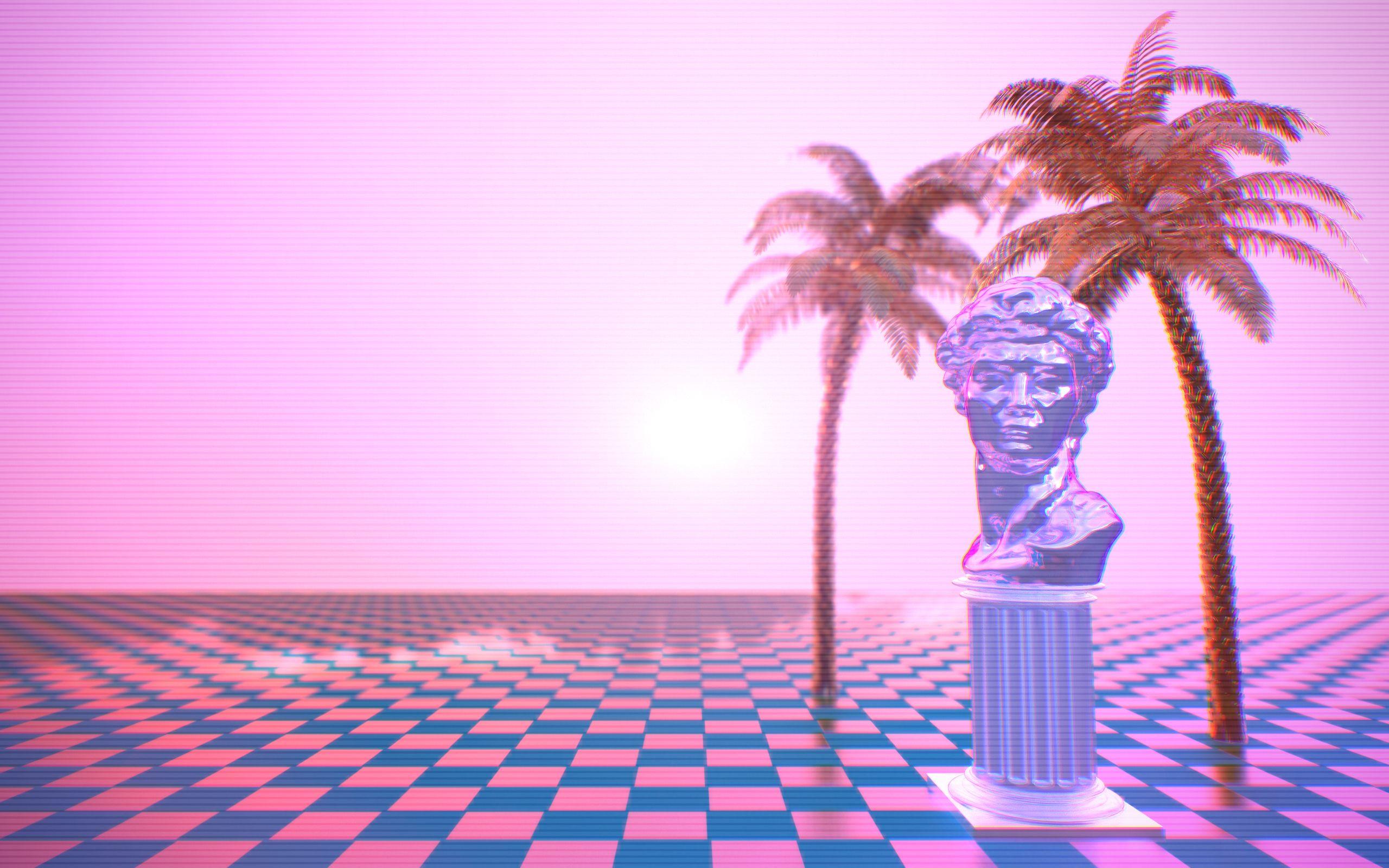 vaporwave desktop