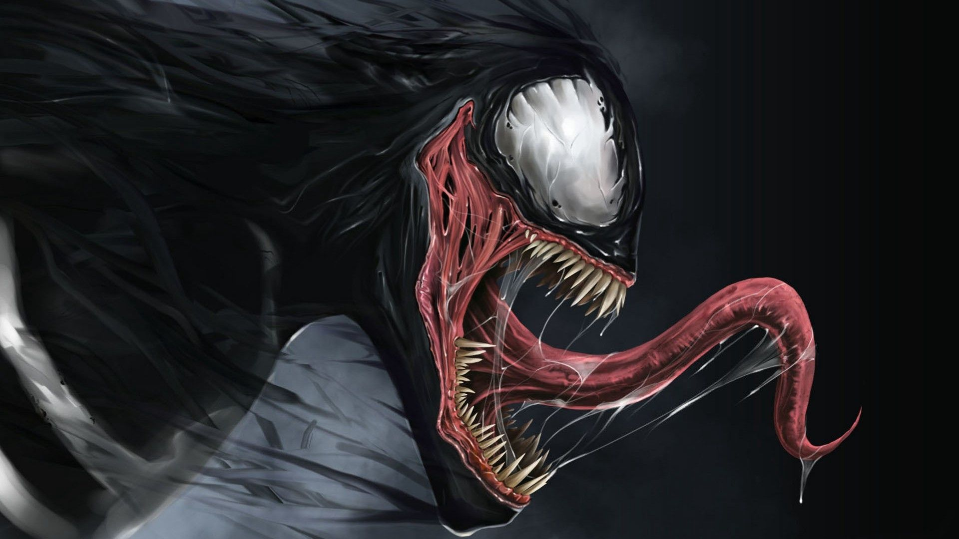 venom wallpaper hd, red venom