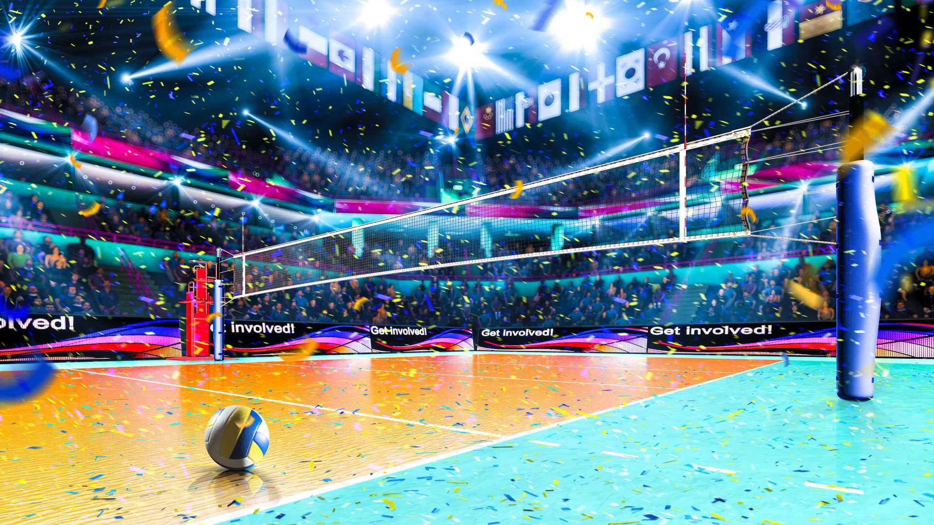 volleyball wallpaper for free