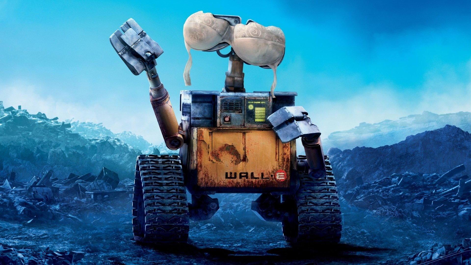wall-e desktop wallpaper