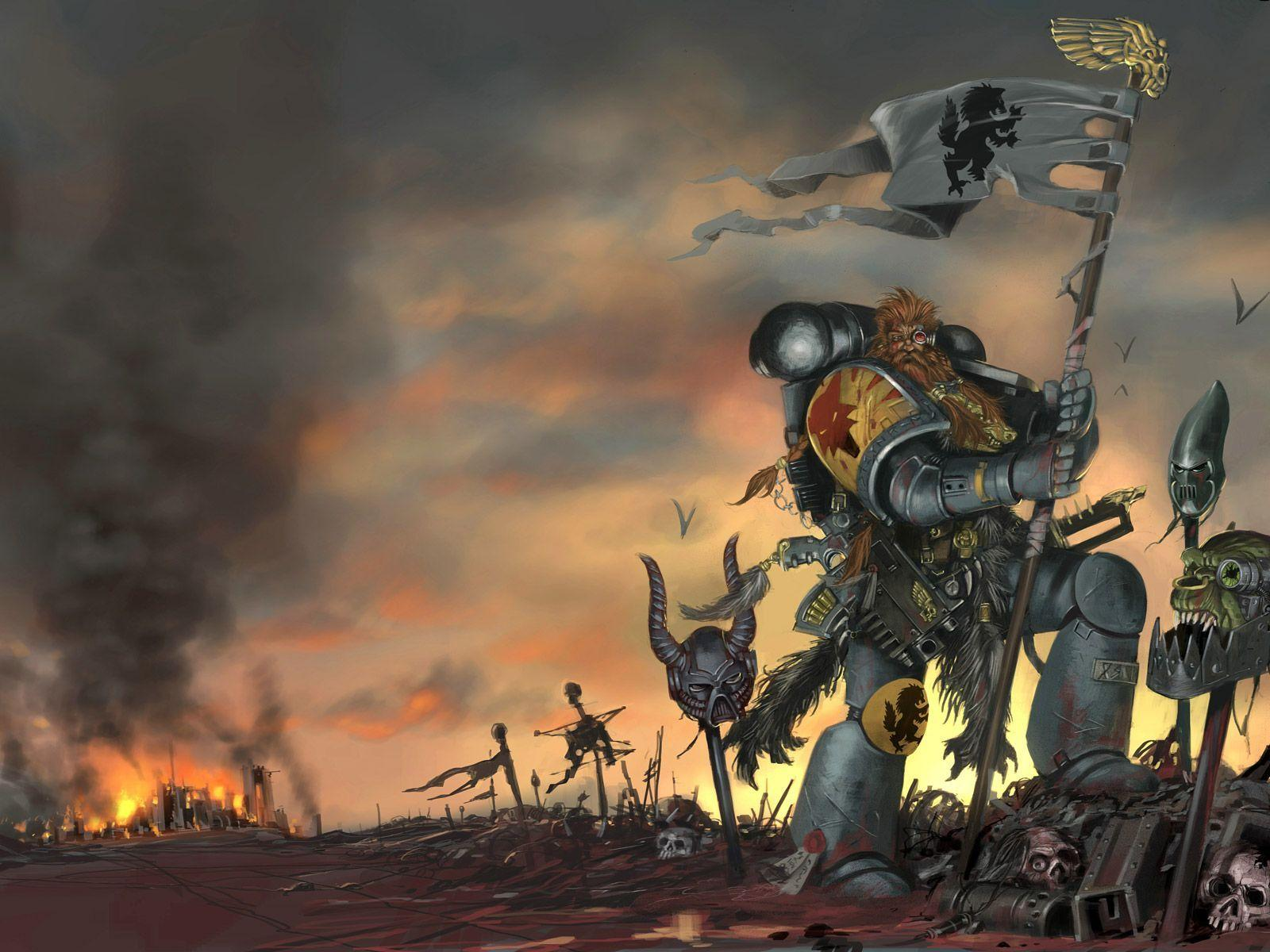warhammer screensaver