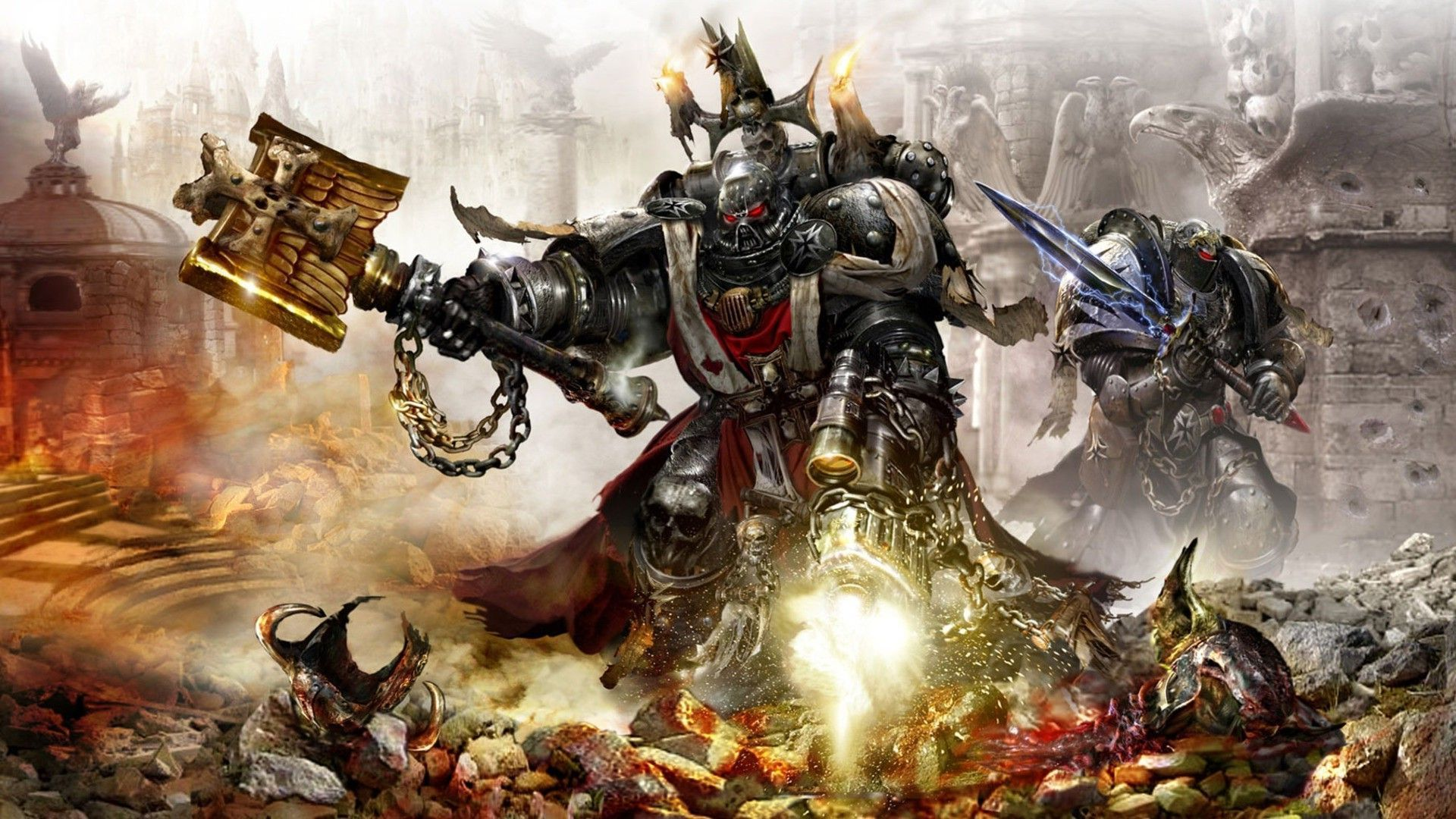 warhammer 40k background