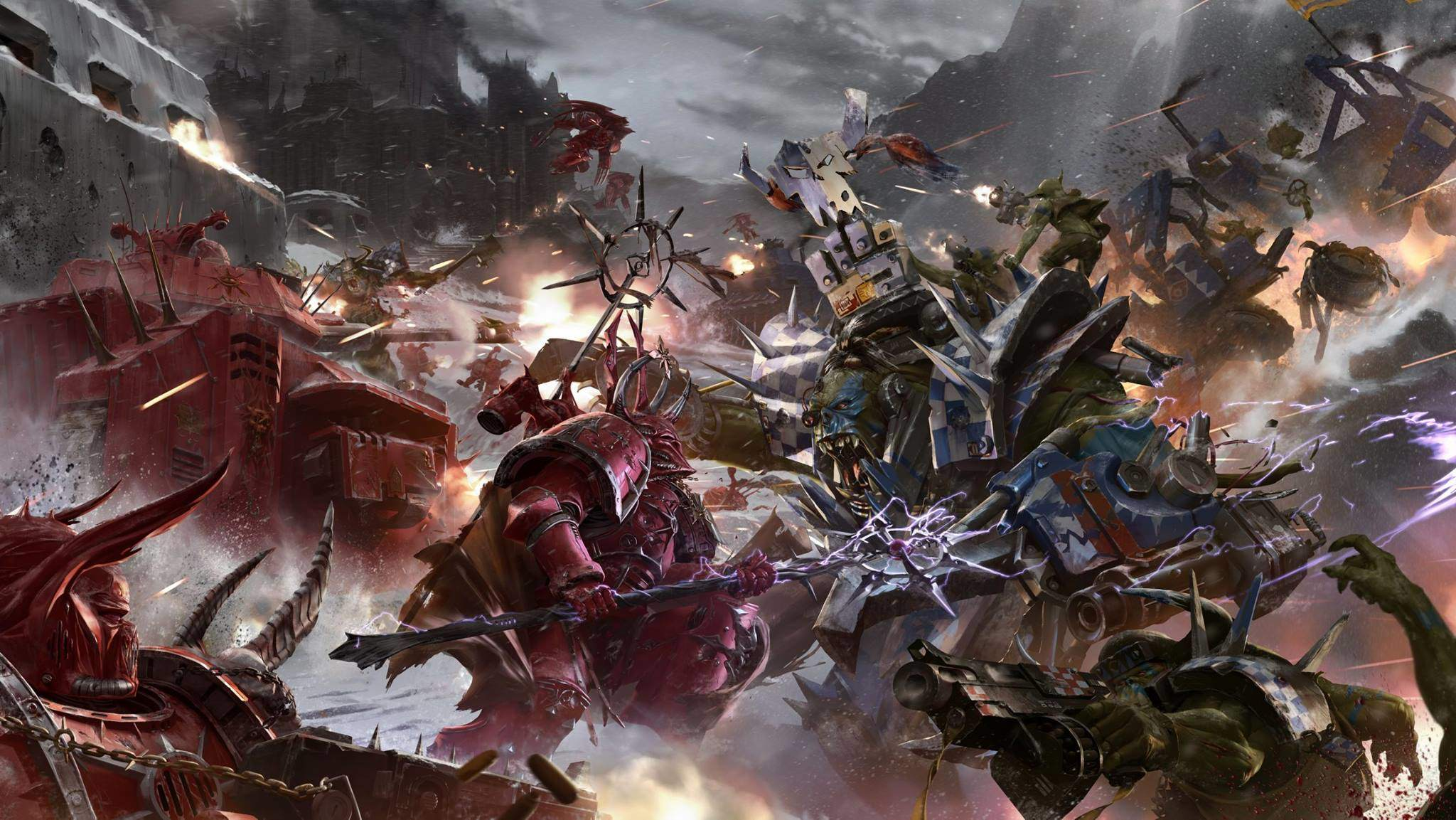 warhammer 40k wallpaper space marines