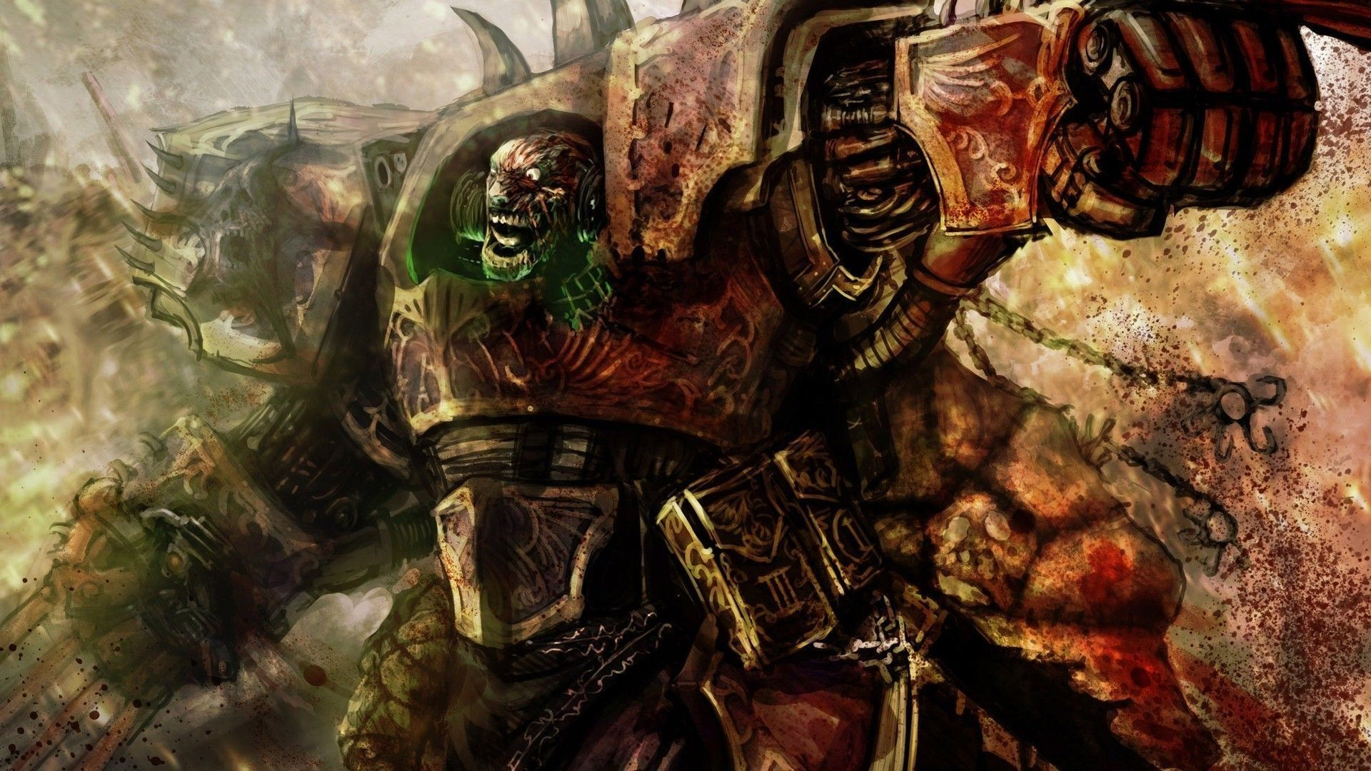 warhammer 40k screensaver