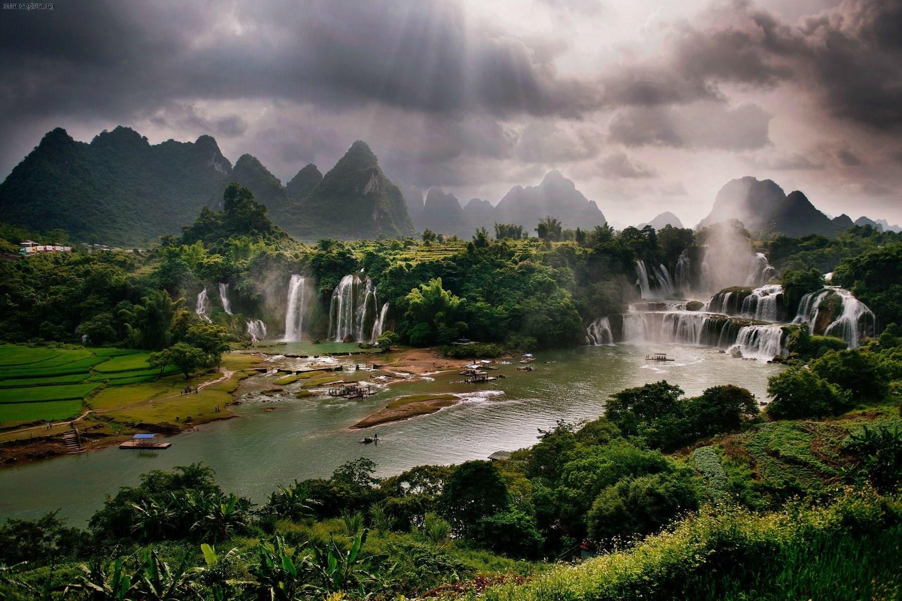 waterfalls images