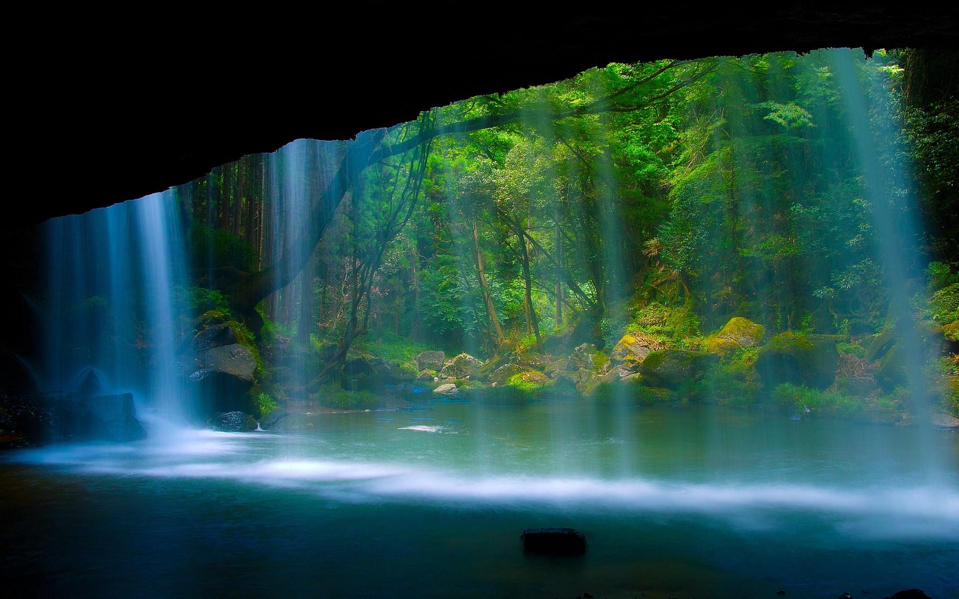 waterfall wallpaper download