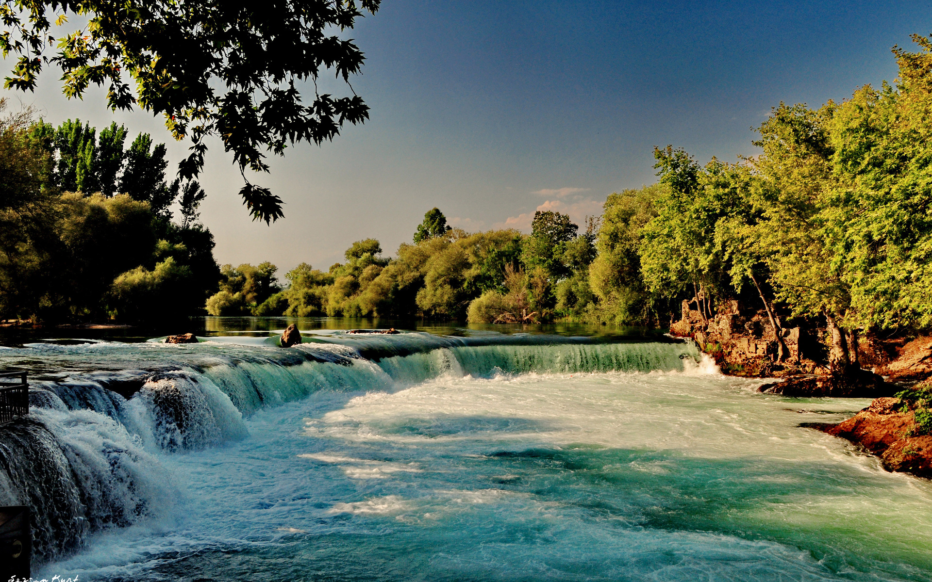 waterfall background hd