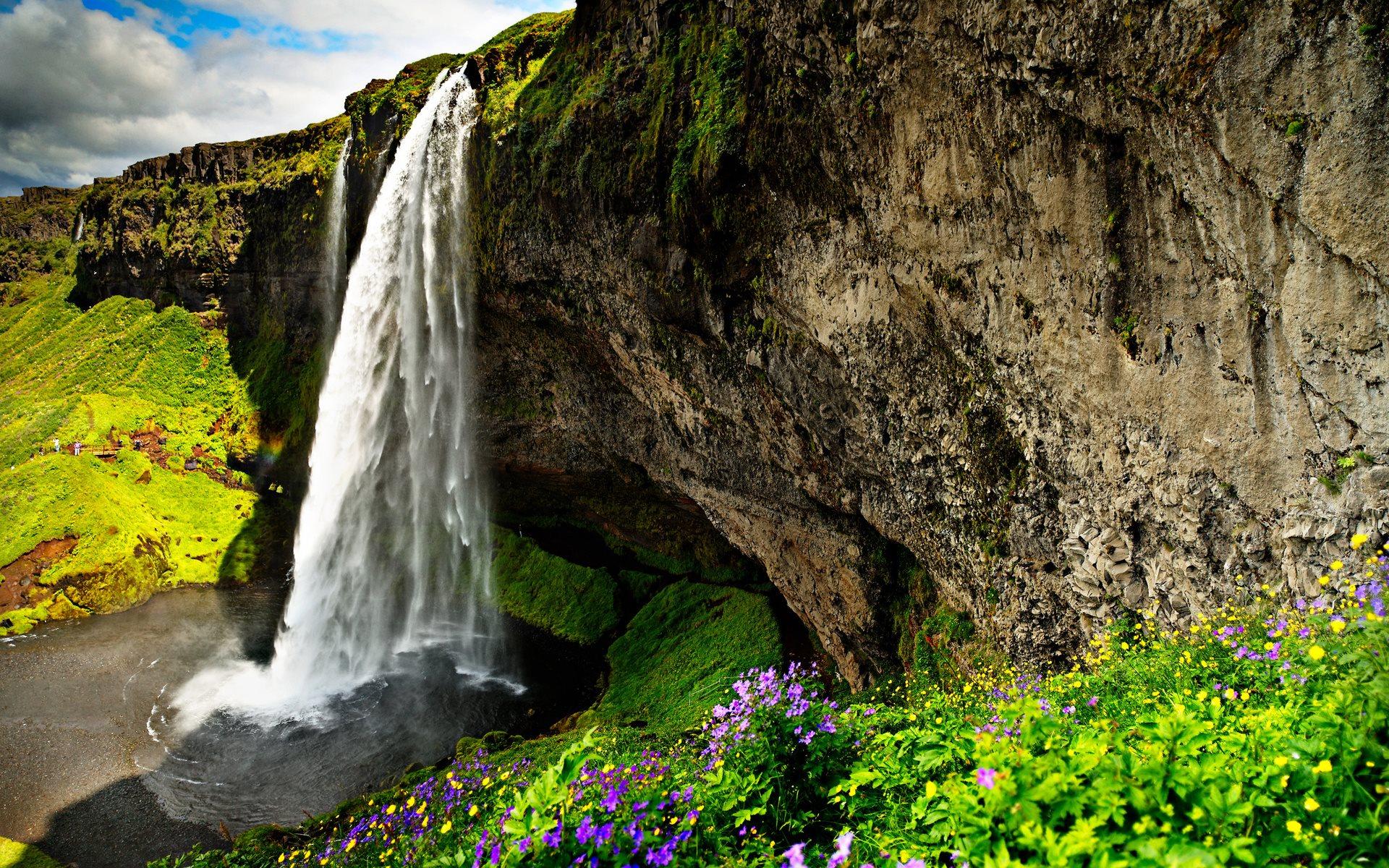 3d waterfall wallpaper free download