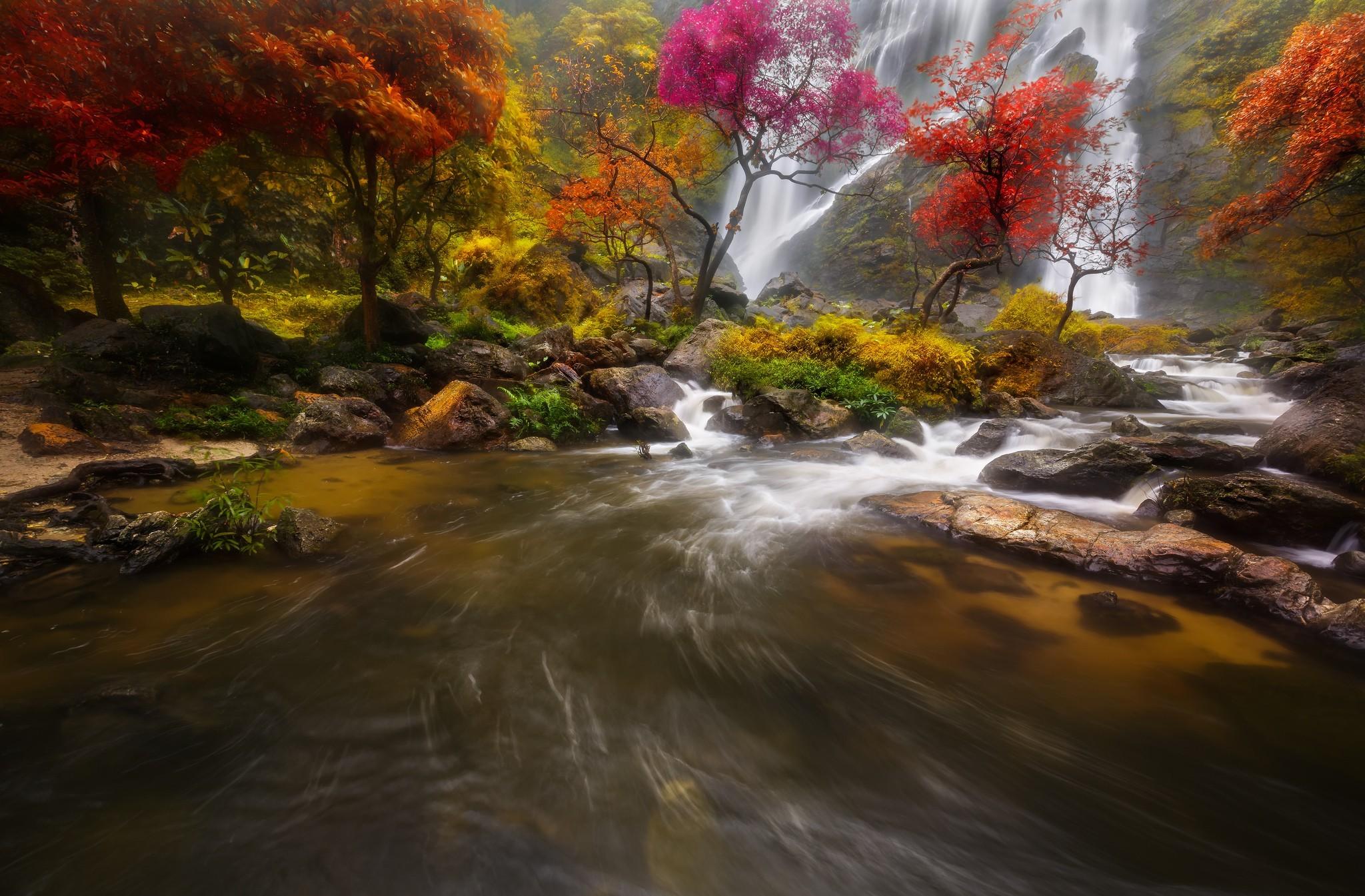 waterfall wallpaper hd for desktop free download
