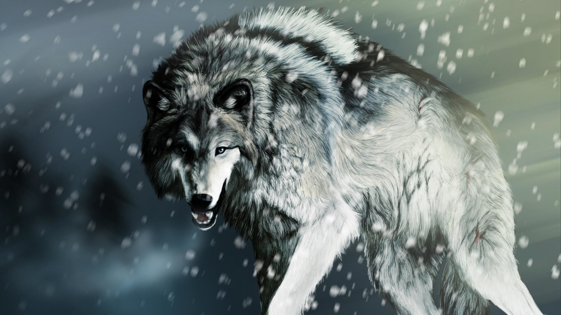 werewolf art wallpaper