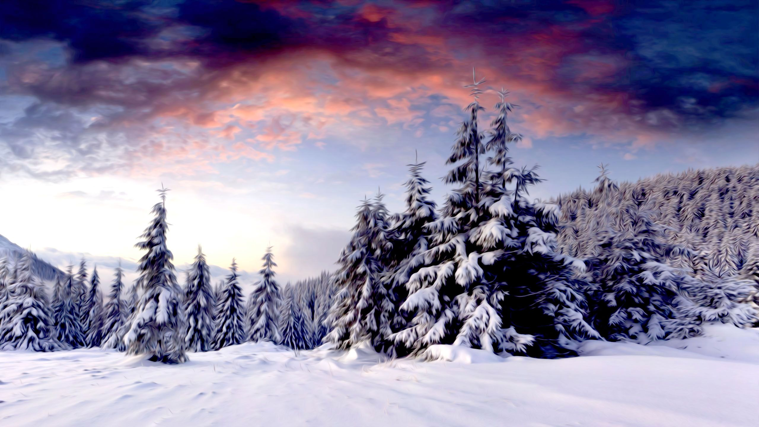 winter scenery images