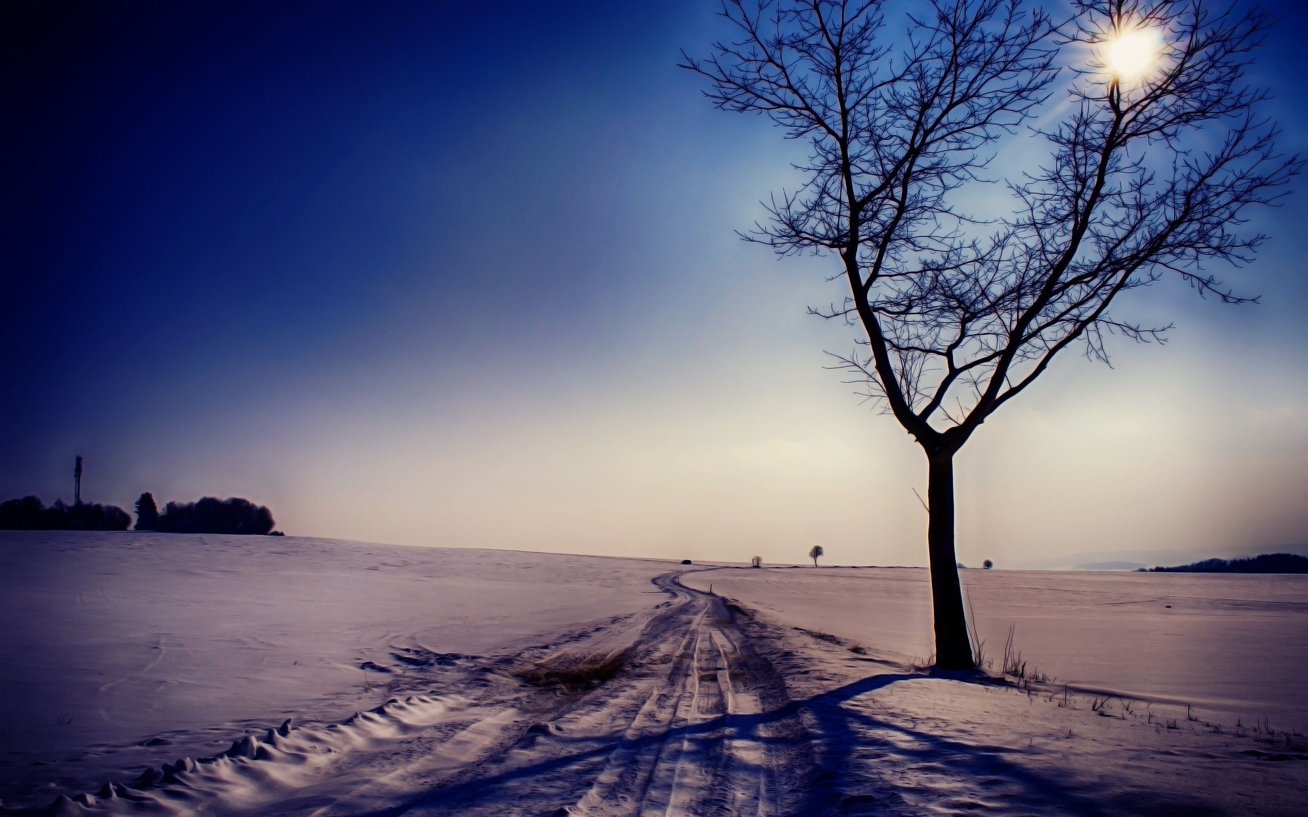 winter scenery hd