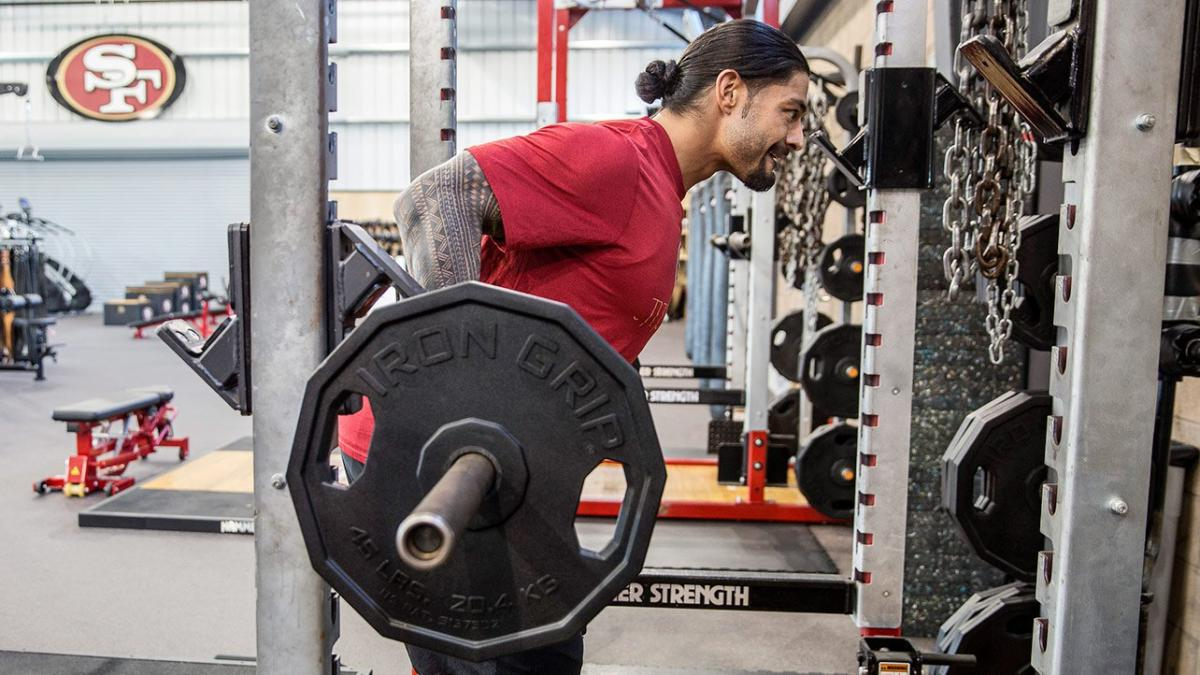 roman reigns gym