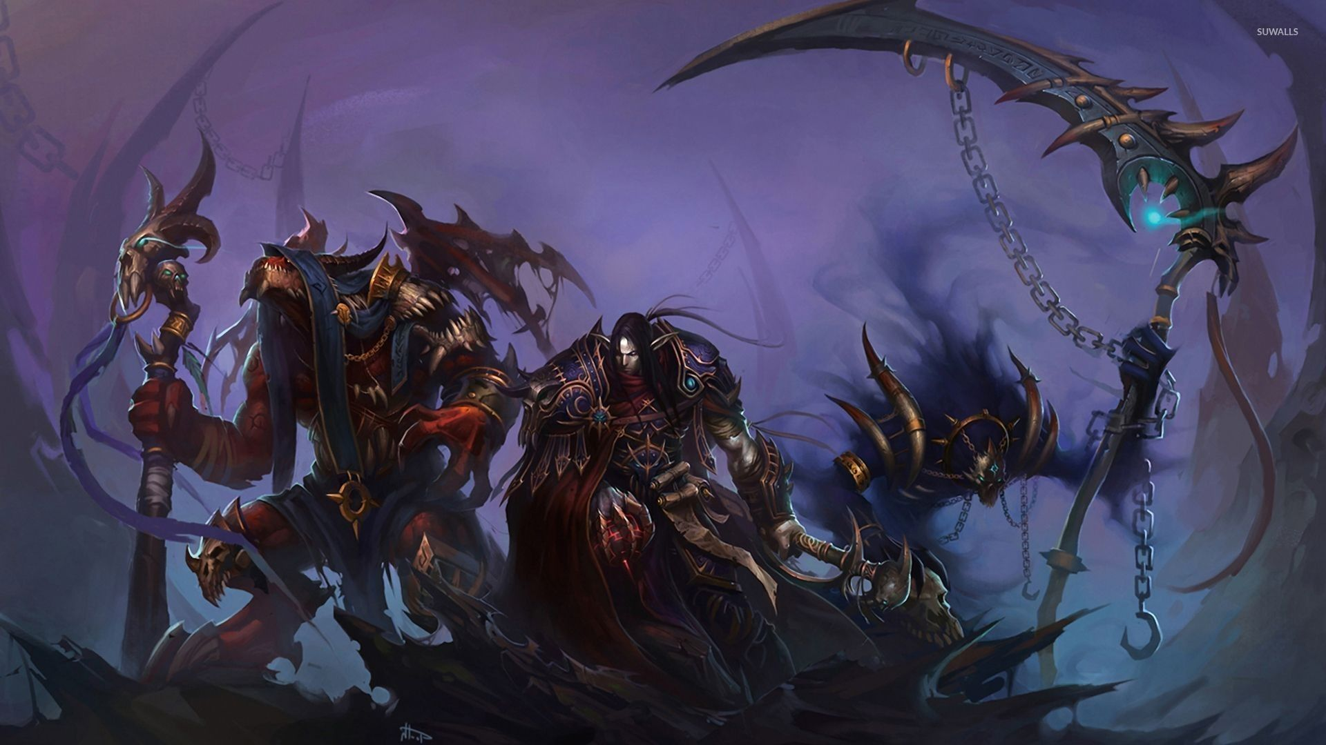 world of warcraft horde wallpaper