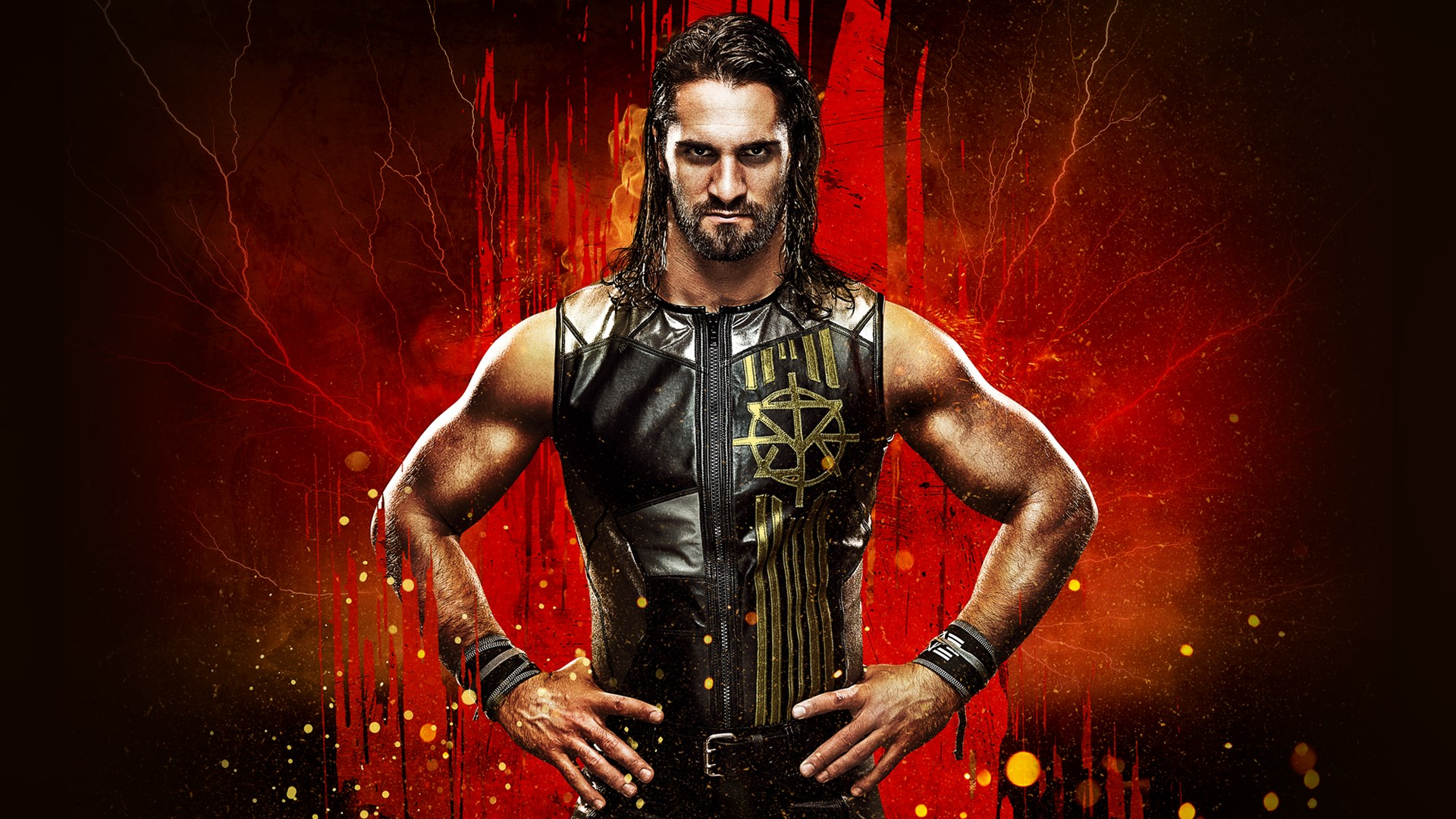 seth rollins logo wallpaper