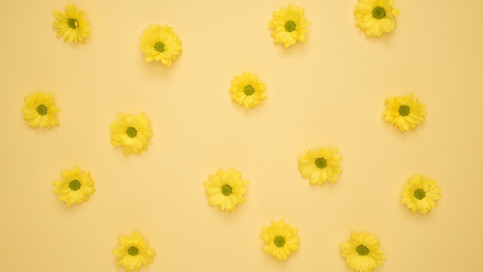 yellow aesthetic pc wallpaper
