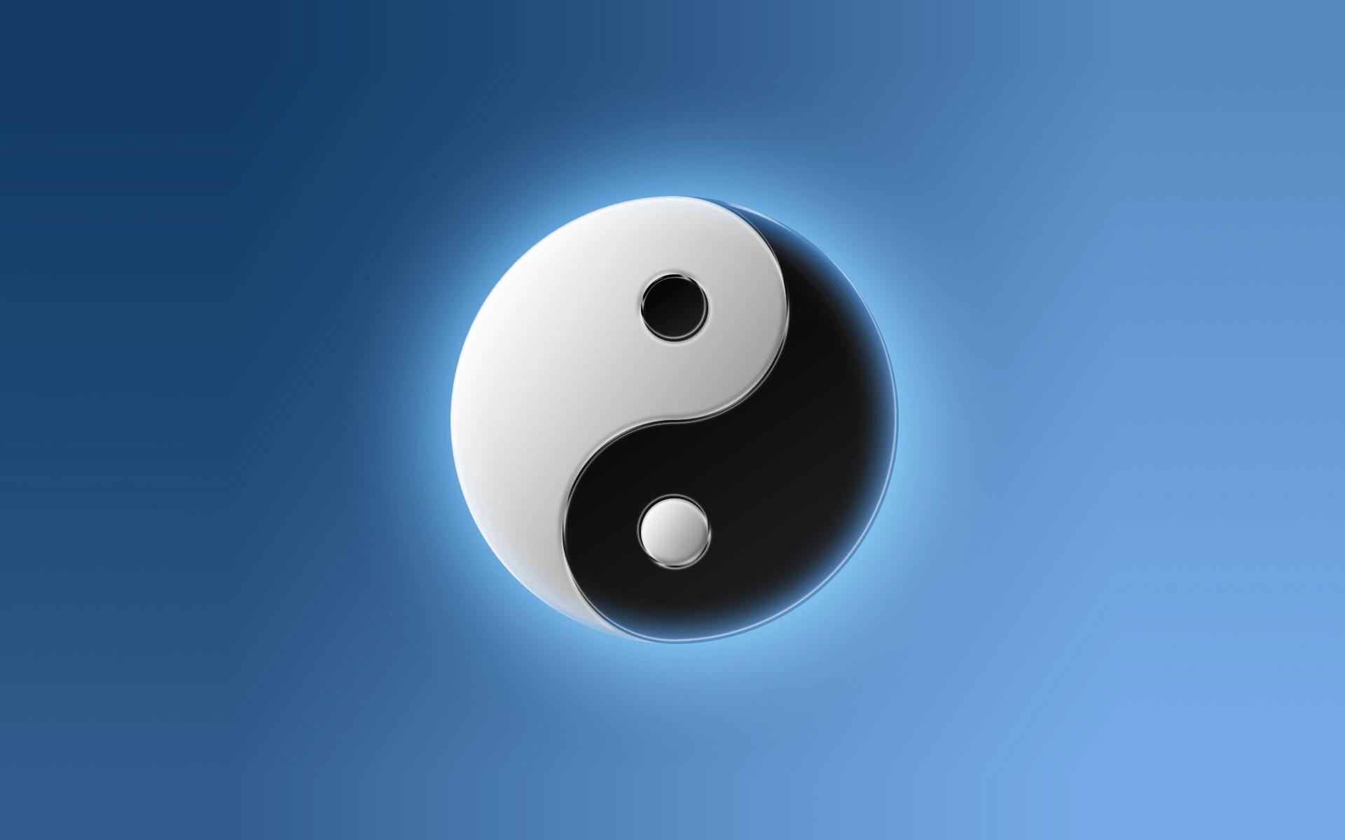 yin yang wallpaper, yin yang logo wallpaper