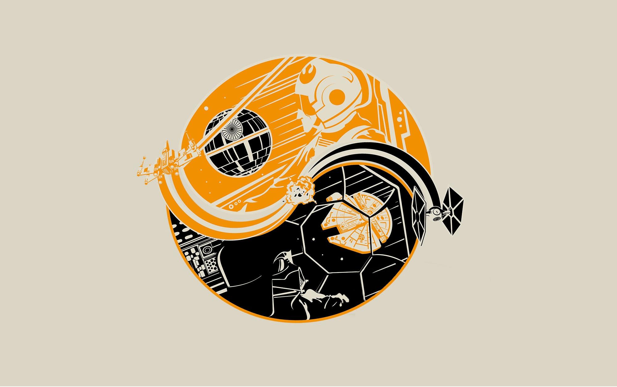 yin yang wallpapers, gin yang
