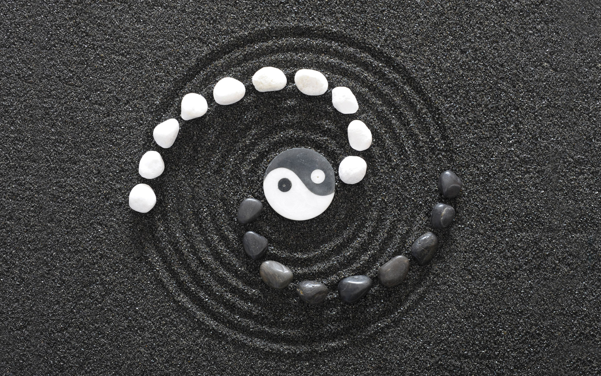 yingyang wallpaper, taoism wallpapers