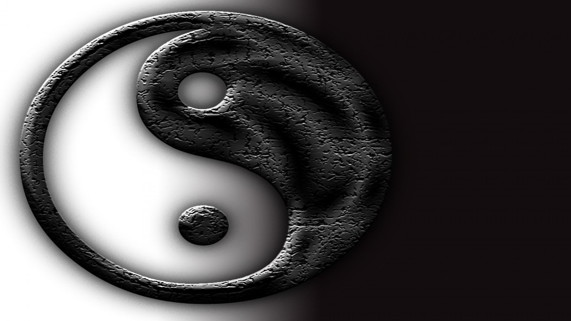 koi fish yin and yang, dragon wallpapers download