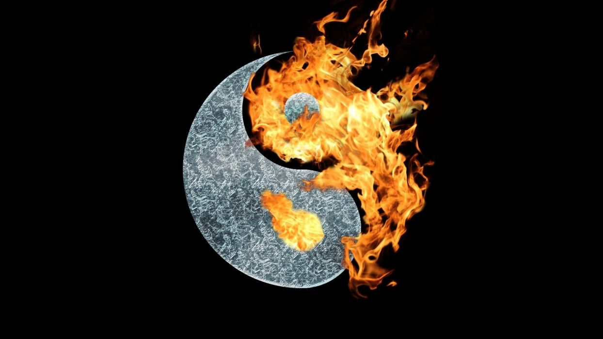 yin yang iphone wallpaper