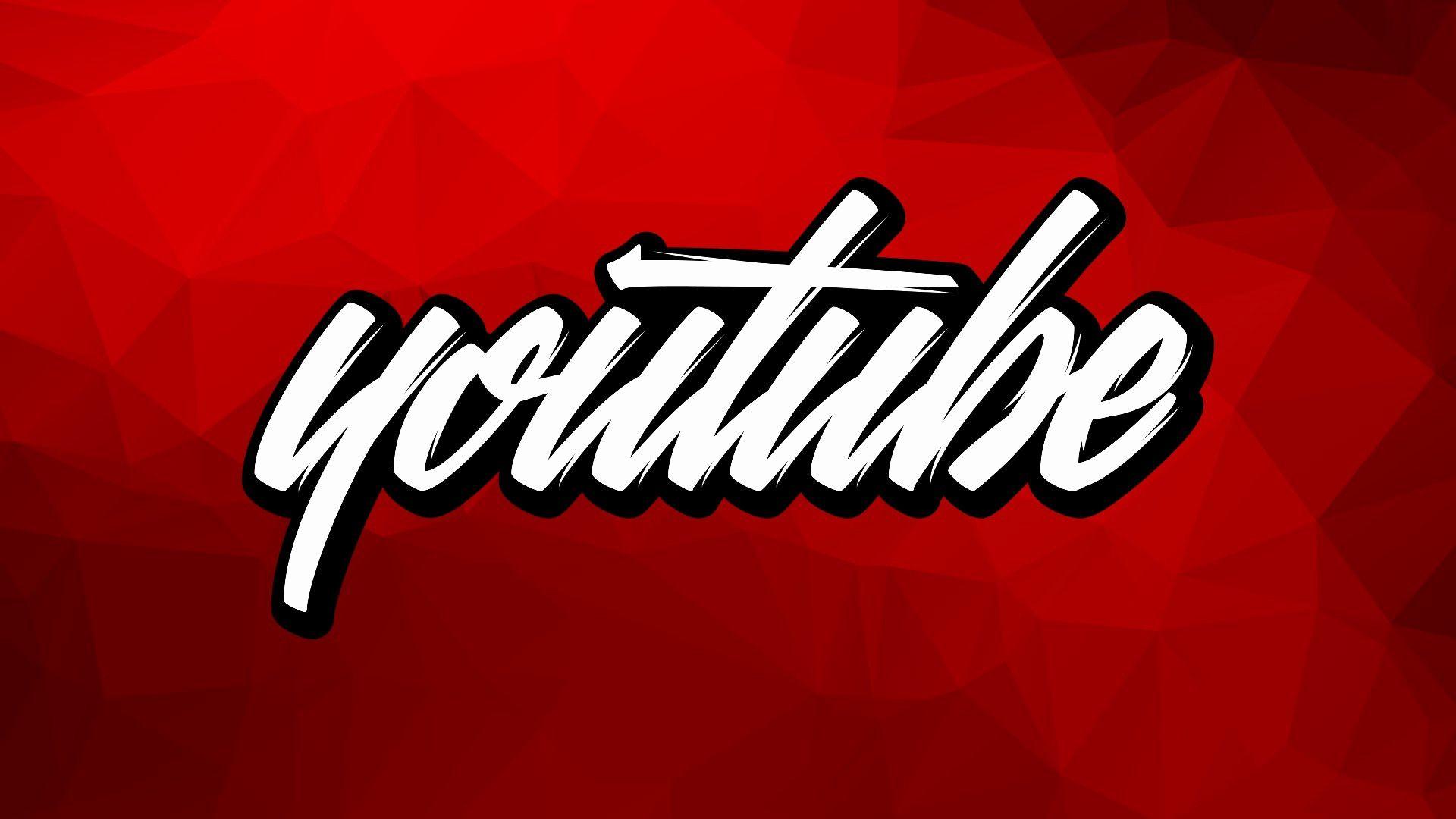 youtube logo wallpaper